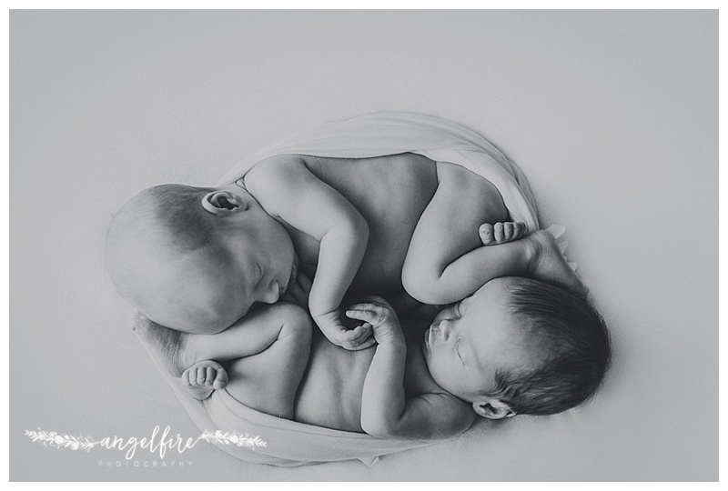 West Midlands Newborn Photographer |Twin Girls, Anouska and Elisa